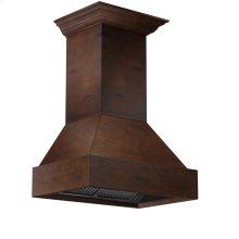 Designer Wood 355VV Wooden Hood
