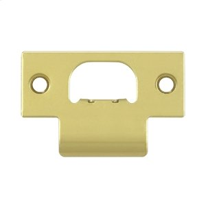 T-Strike for Commercial Lock - Polished Brass