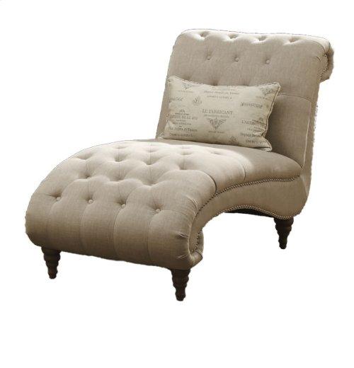 Chaise Nailhead With 1 Pillows