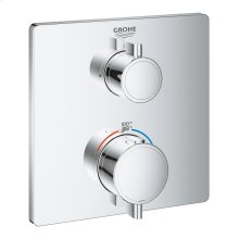 Grohtherm Dual Function 2-Handle Thermostatic Trim