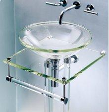Glass Rod Towel Bar