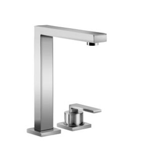 BAR TAP Two-hole mixer with individual flanges - chrome