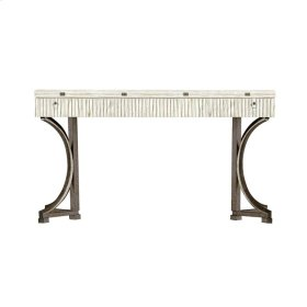 Coastal Living Resort Curl Tide Flip Top Table In Nautical White