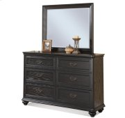 Belmeade Six Drawer Dresser Raven Black finish Product Image