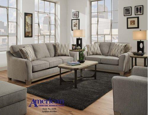 6160 - Artifact Pewter Sofa
