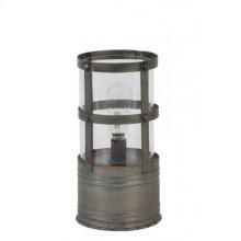 Table lamp LED 11x21 cm KARL dark grey incl lamp