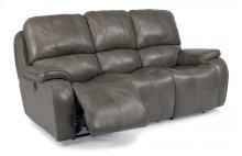 MacKay Leather Power Reclining Sofa