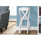 """ACCENT TABLE - 32""""H / WHITE Product Image"""