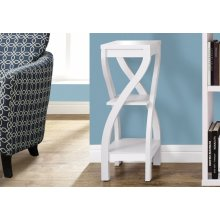 """ACCENT TABLE - 32""""H / WHITE"""