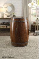 Wine Barrel Refrigerator Product Image