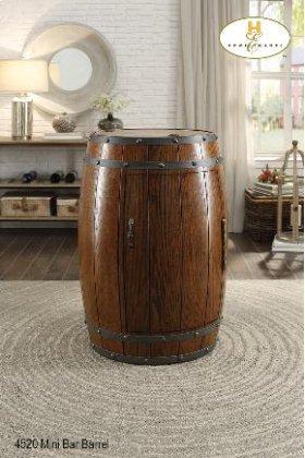 Wine Barrel Refrigerator