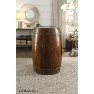 Wine Barrel Refrigerator