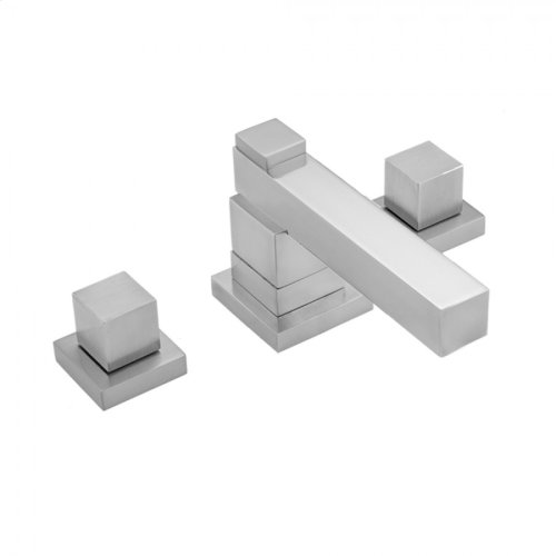Polished Nickel - CUBIX® Double Stack Faucet with Cube Handles