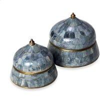 Suri Round Boxes - Grey