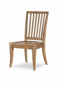 Slat Back Side Chair - Nutmeg