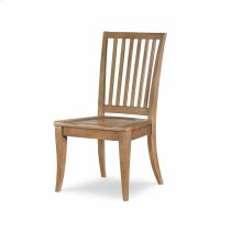 Slat Back Side Chair - Nutmeg