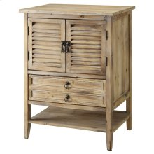 Jackson 2 Door Weathered Oak Bedside Accent
