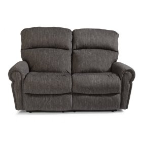 Langston Fabric Power Reclining Loveseat with Power Headrests