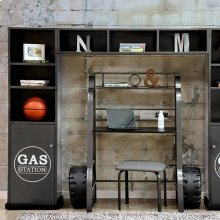 Royal Racer Storage Shelf, Gun Metal