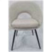 Modern Cream Dining Chair