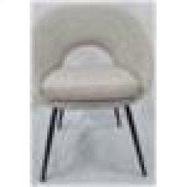 Modern Cream Dining Chair