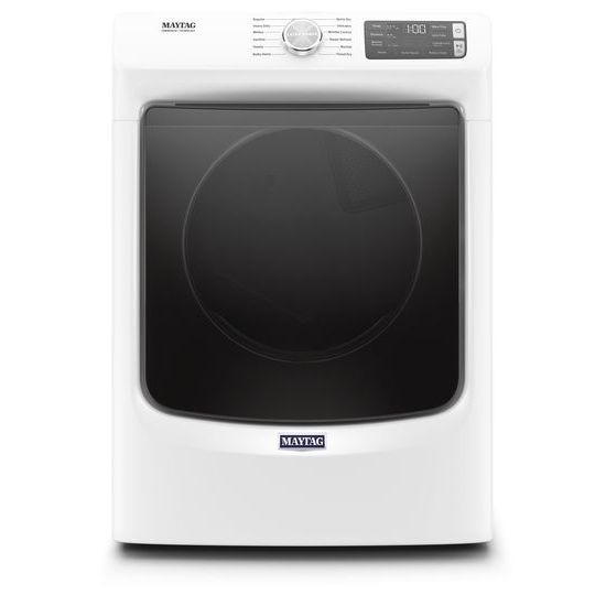 Maytag(R) Front Load Electric Dryer with Extra Power and Quick Dry Cycle - 7.3 cu. ft. - White  WHITE