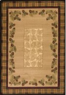 Contours/cem Winter Pines Toffee Rugs Product Image