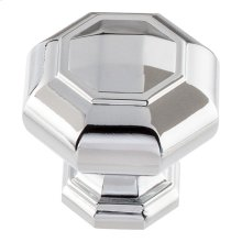 Elizabeth Knob 1 1/4 inch - Polished Chrome