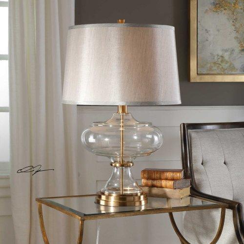 Jelani Brass Table Lamp