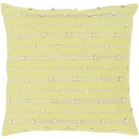 "Accretion ACT-002 20"" x 20"" Pillow Shell with Down Insert"