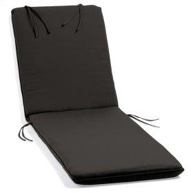 Chaise Cushion - Canvas Black