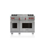 "WOLF48"" Dual Fuel Range - 4 Burners and French Top"