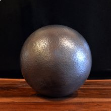 Hammered Copper Sphere 10 Inch / Antique Dark Copper