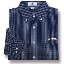 Get the corporate look with this plaid shirt.