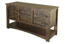 Sofa Table w/2 Drawer & 2 Doors