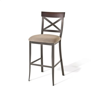 Kyle Non Swivel Stool (solid Wood)