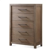 Mirabelle Five Drawer Chest Ecru finish Product Image