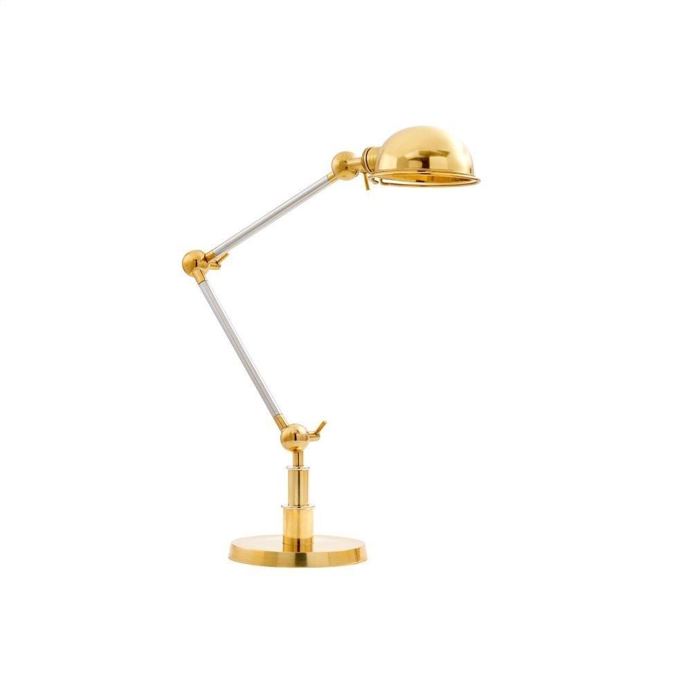 Ambassador Table Lamp, Brass