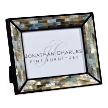 """5""""X7"""" Rectangular Mother of Pearl Picture Frame"""