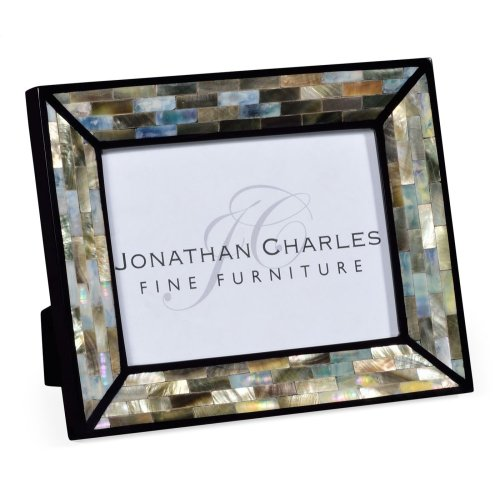 "5""X7"" Rectangular Mother of Pearl Picture Frame"
