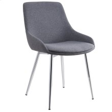 Cassidy Side Chair in Grey, 2pk