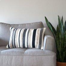 Zander Pillow - Charcoal / Small