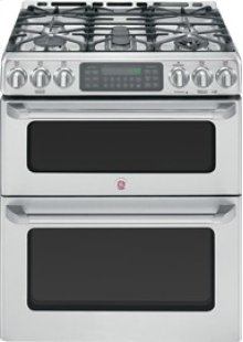 "30"" Slide-In Double Oven Gas Convection Self-Cleaning Range"