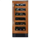 15 Inch Overlay Glass Door Wine Cabinet - Right Hinge Overlay Glass Product Image