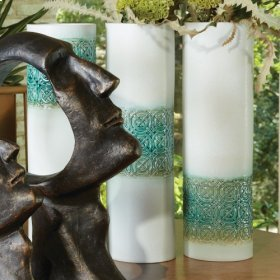 Woven Cuff Vase-Jade-High