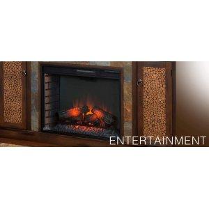 Santa Fe Fireplace/ TV Console
