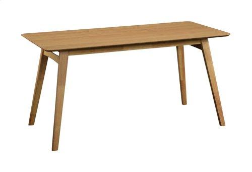 """Rectangular Dining Table 60x28x30"""" Natural Rta"""