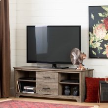 TV Stand with Drawers for TVs up to 60\ - Weathered Oak
