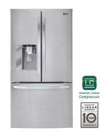 Mega-Capacity 3 Door French Door Refrigerator with Smart Cooling Plus