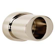 Contemporary III Shower Rod Brackets A7646 - Unlacquered Brass